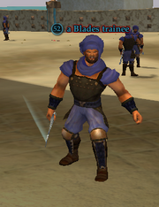 A Blades trainee