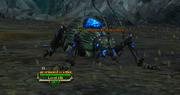 An armored scuttler