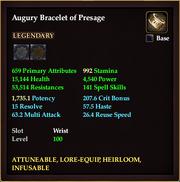 Augury Bracelet of Presage
