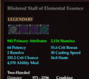Blistered Staff of Elemental Essence