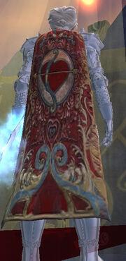 Cloak of Erollisi's Ardor (Equipped)