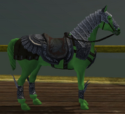 Horse of a Different Color (House Item) (Visible)