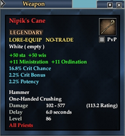 Nipik's Cane