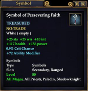 Symbol of Persevering Faith