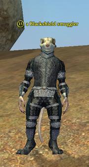 A Blackshield smuggler (ratonga)