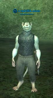 A roekillik miner (Enchanted Lands)