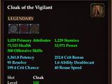 Cloak of the Vigilant