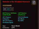 Defender of the Mindfold Matriarch