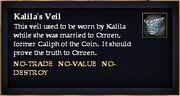 Kalila's Veil