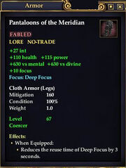 Pantaloons of the Meridian