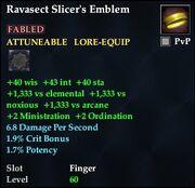Ravasect Slicer's Emblem