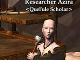 Researcher Azira