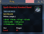 Spell-Shocked Knotted Band
