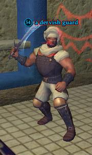 A dervish guard