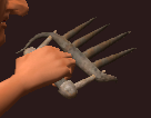 Blessed Iron Claws (Equipped)