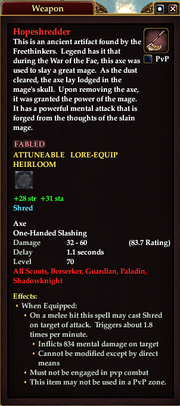 Hopeshredder