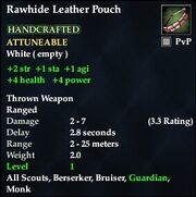 Rawhide Leather Pouch