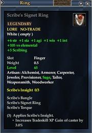 Scribe's Signet Ring