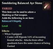 Smoldering Balanced Ayr Stone