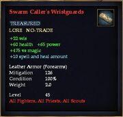 Swarm Caller's Wristguards