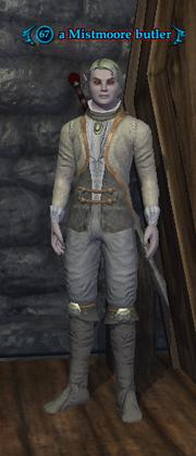 A Mistmoore butler