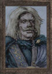 A royal portrait (Visible)