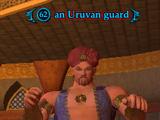 An Uruvan guard