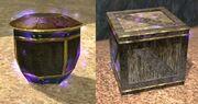 Awakened vase & crate