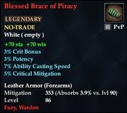 Blessed Brace of Piracy (Leather)