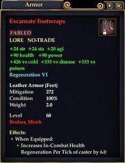 Excarnate Footwraps