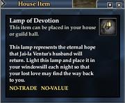 Lamp of Devotion