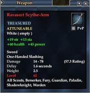 Ravasect Scythe-Arm