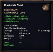 Blackscale Maul