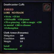 Deathcaster Cuffs