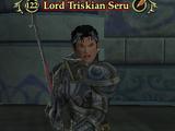 Lord Triskian Seru