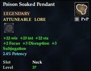 Poison Soaked Pendant