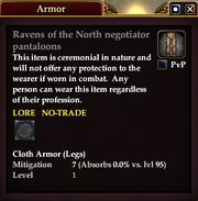 Ravens of the North negotiator pantaloons