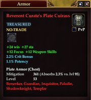 Reverent Curate's Plate Cuirass