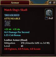 Watch Dog's Skull