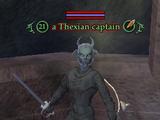 A Thexian captain