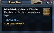 Blue Marble Narrow Divider