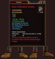 Boots of Ritualistic Sacrifice