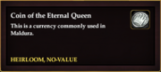 Coin of the Eternal Queen