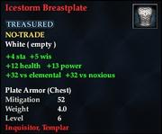 Icestorm Breastplate