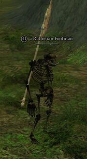 Rallosian Footman
