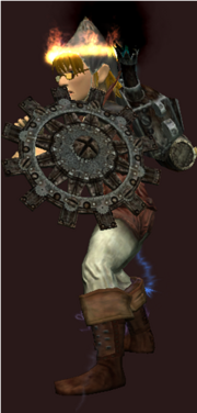 Rusty Shield of the Great Gear