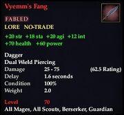 Vyemm's Fang
