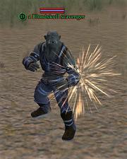 A Bloodskull scavenger