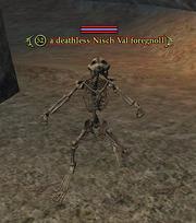 A deathless Nisch Val foregnoll