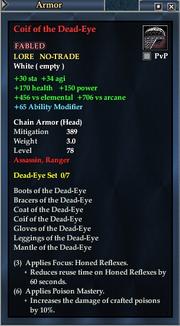 Coif of the Dead-Eye